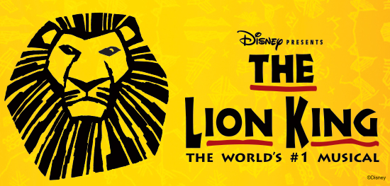 Disney's THE LION KING Broadway Show Package
